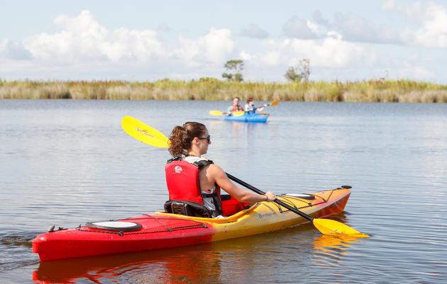 Audubon Sanctuary Kayak Trips