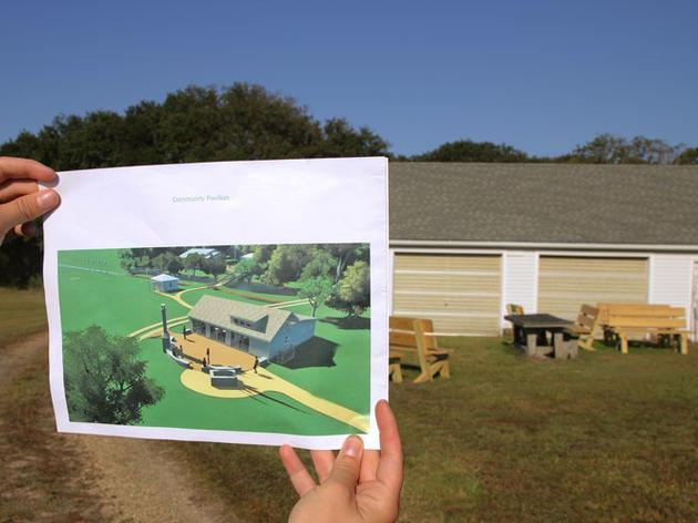 Phase 1 of the Future Donal C. O'Brien, Jr. Sanctuary and Audubon Center
